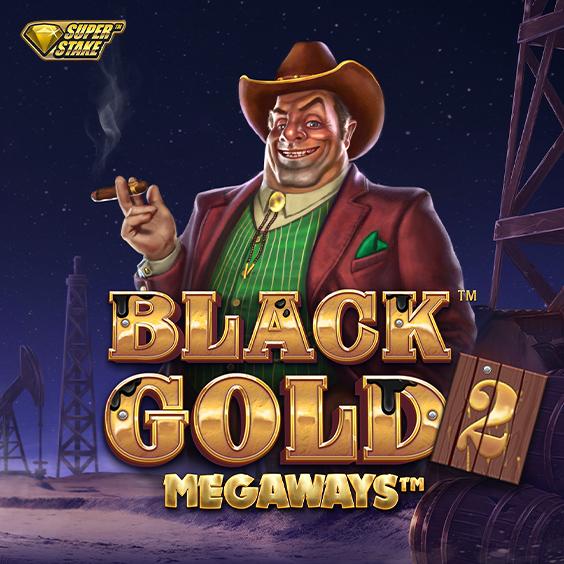注目 新作スロット┃ Black Gold 2 Megaways┃ StakeLogic Premium